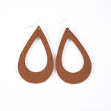 Salted Caramel Leather Earrings