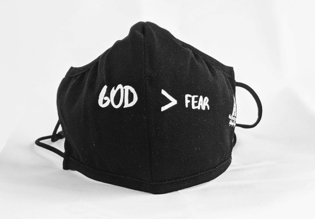 GFA Face Masks Masks God First Apparel (GFA) God > Fear