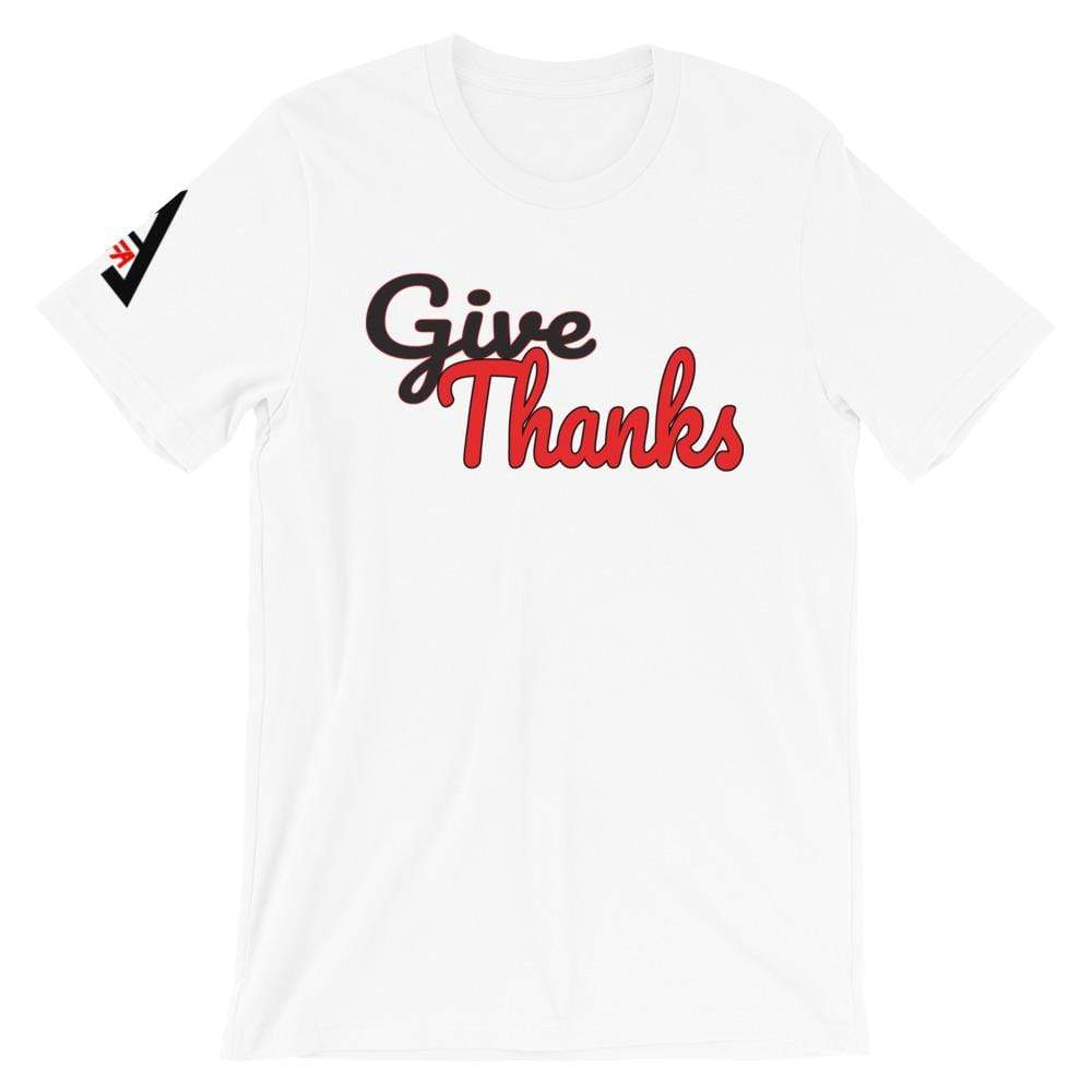 Give Thanks Female Tee shirts Female T-shirts God First Apparel (GFA)