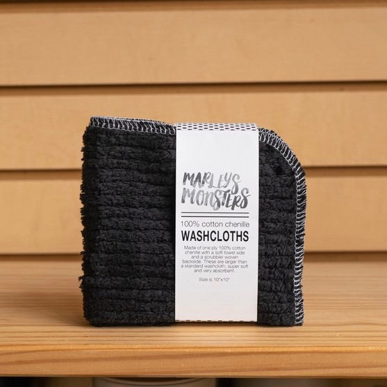 Marley's Monsters - Cotton Chenille Washcloths