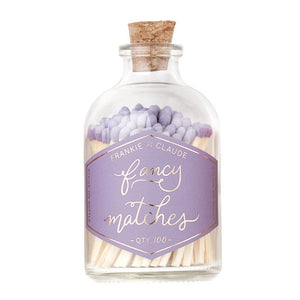 Frankie & Claude – Lavender Small Match Jar