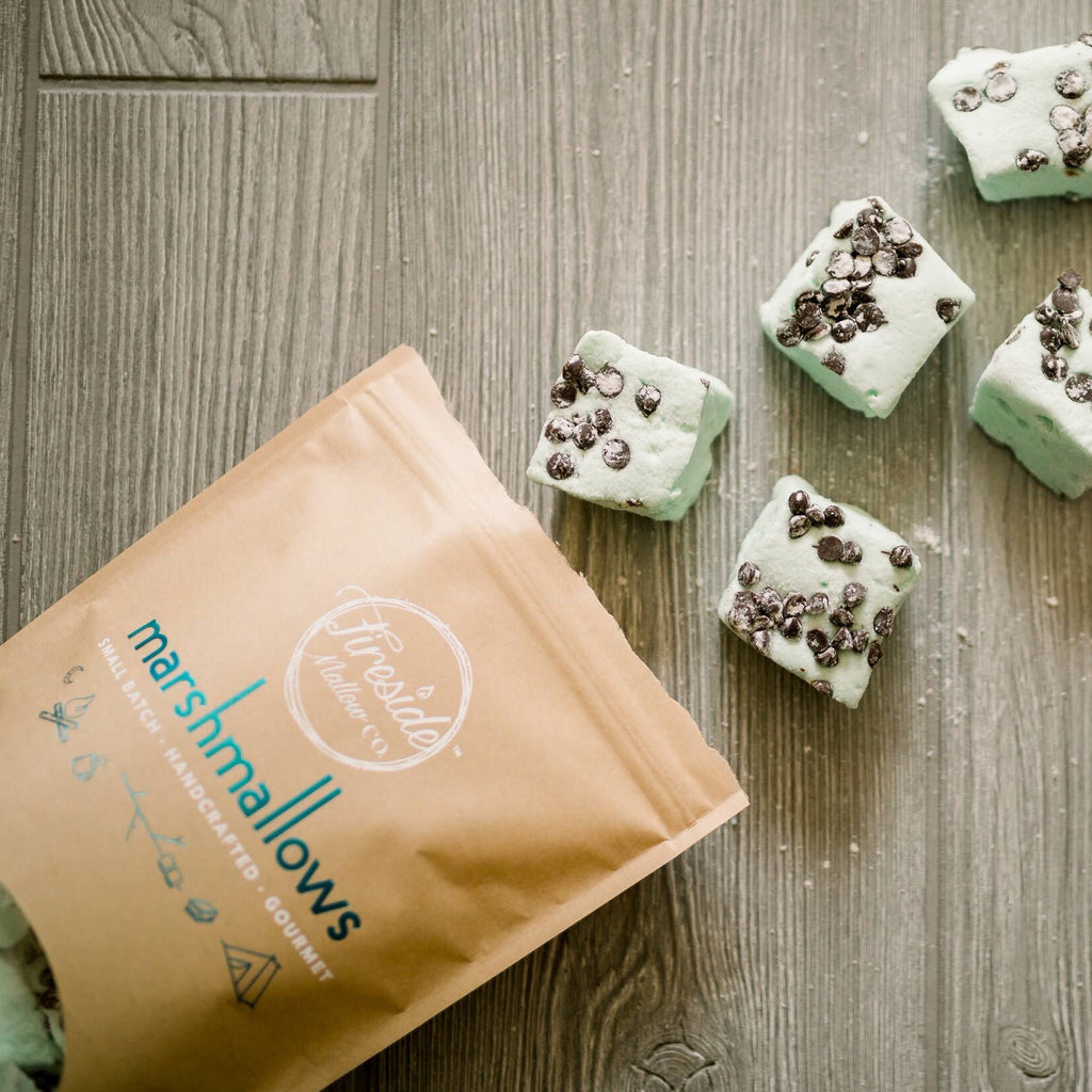 Creekside Mallow Co. - Chocolate Chip Mint Marshmallow