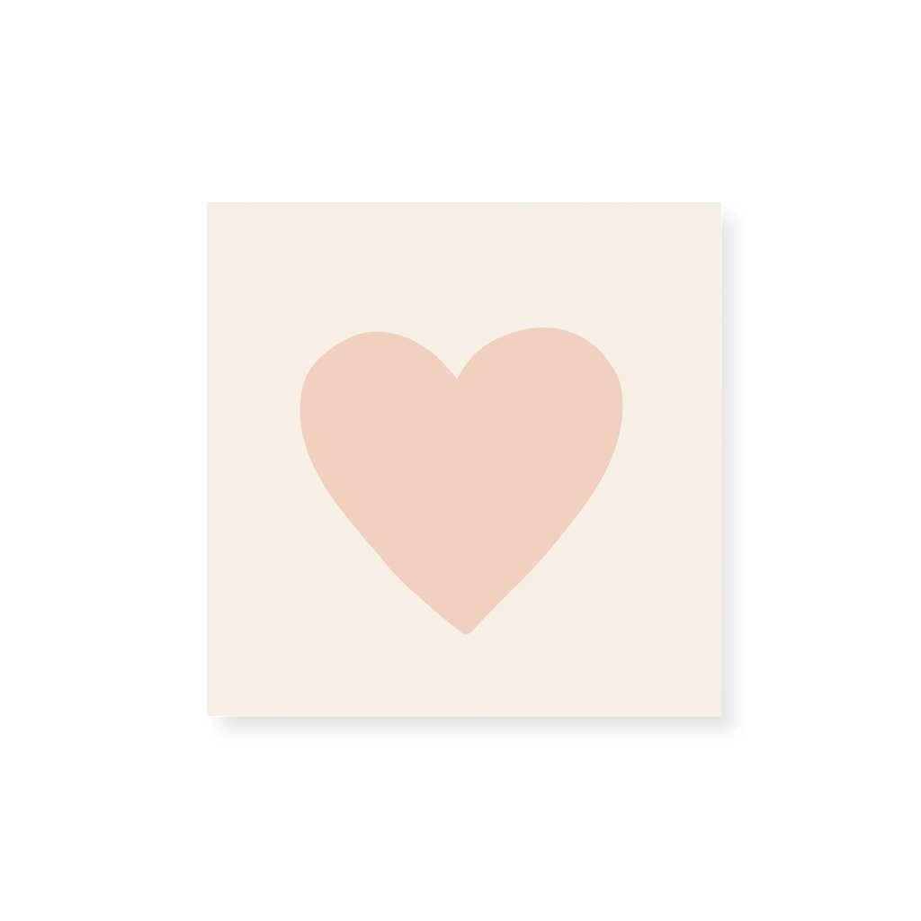 Frankie & Claude - Small Match Box: Embossed Pink Heart