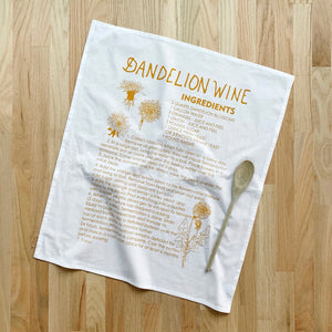 Oh, Little Rabbit – Dandelion Wine Flour Sack Towel