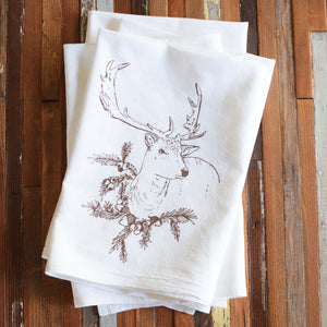 Oh, Little Rabbit – Reindeer Cloth Napkins (Set of 4)