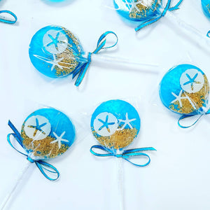Sweet Caroline Confections - Under the Sea Lollipops, Blueberry