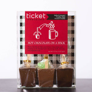 Ticket Chocolate - 3 Pack Valentine's Hot Chocolate