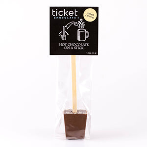 Ticket Chocolate - French Truffle - Hot Chocolate on a Stick - Single