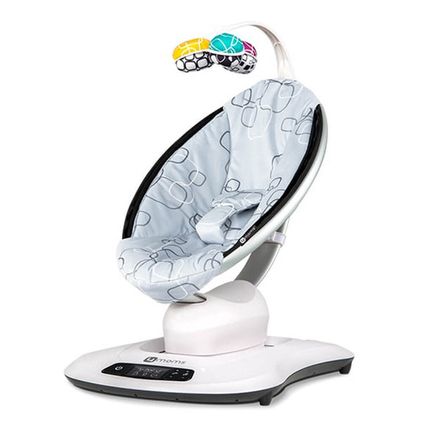 4Moms MamaRoo 4 Silver Plush Rockers & Bouncers 4moms