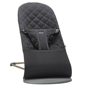 Baby Bjorn Bouncer Bliss - Cotton Rockers & Bouncers Baby Bjorn Black Cotton
