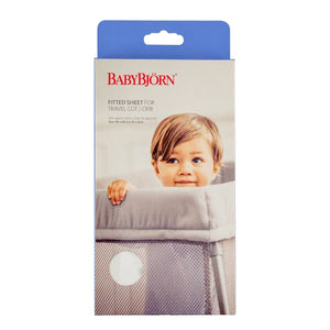 Baby Bjorn Fitted Sheet for Travel Cot Mats & Linen Baby Bjorn