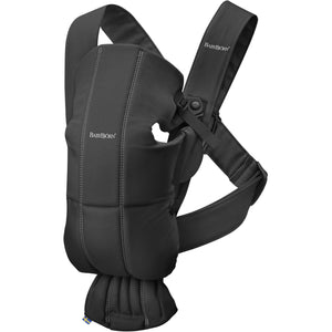 Baby Bjorn Mini Baby Carriers Baby Bjorn Black Cotton