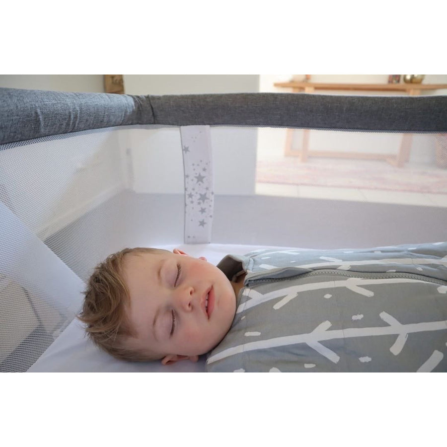 Babystudio Bedside Sleeper Cradles & Bassinets Babystudio Woodgrain