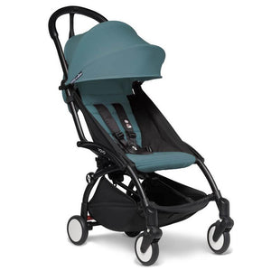 BabyZen Yoyo2 Compact Prams BabyZen Black Aqua No Cup Holder