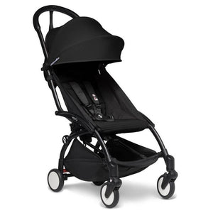 BabyZen Yoyo2 Compact Prams BabyZen Black Black No Cup Holder
