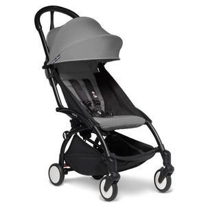 BabyZen Yoyo2 Compact Prams BabyZen Black Grey No Cup Holder