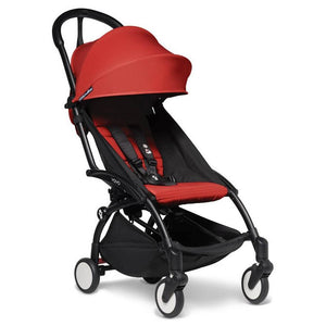 BabyZen Yoyo2 Compact Prams BabyZen Black Red No Cup Holder