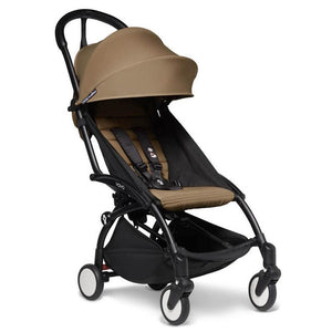 BabyZen Yoyo2 Compact Prams BabyZen Black Toffee No Cup Holder