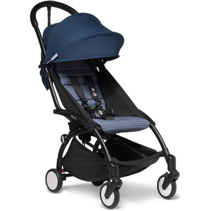 Babyzen YOYO² - with 0+ newborn pack and 6+ month colour pack Compact Prams Babyzen Black Frame Air France