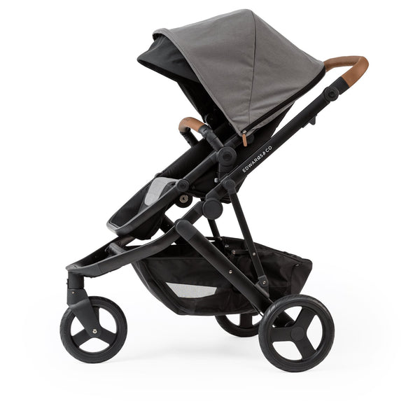 Edwards & Co Oscar Mx Prams Edwards & Co Slate