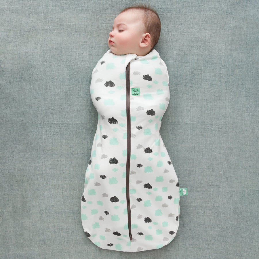 ergoPouch Cocoon Swaddle Bag - Clouds (0.2 Tog) Sleeping Bags ergoPouch 0-3 months