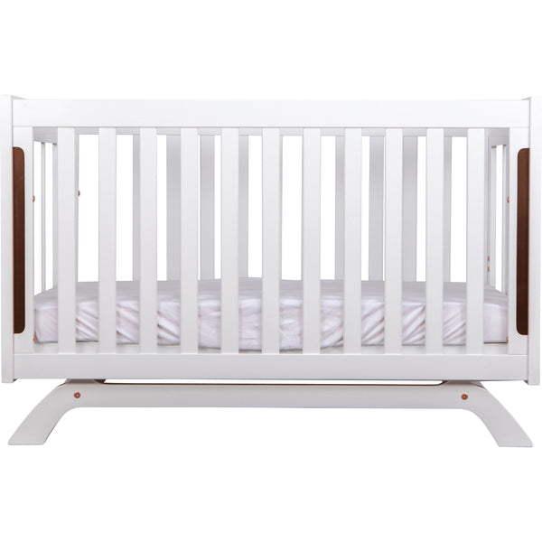 Grotime Retro Cot Cots Grotime White Breathe Easy Mattress
