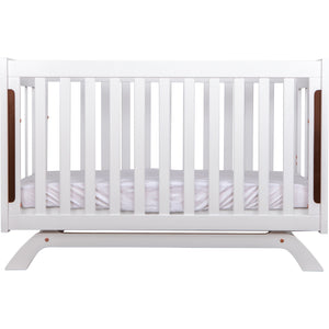 Grotime Retro Package - with cot, chest and mattress Nursery Furniture Grotime White