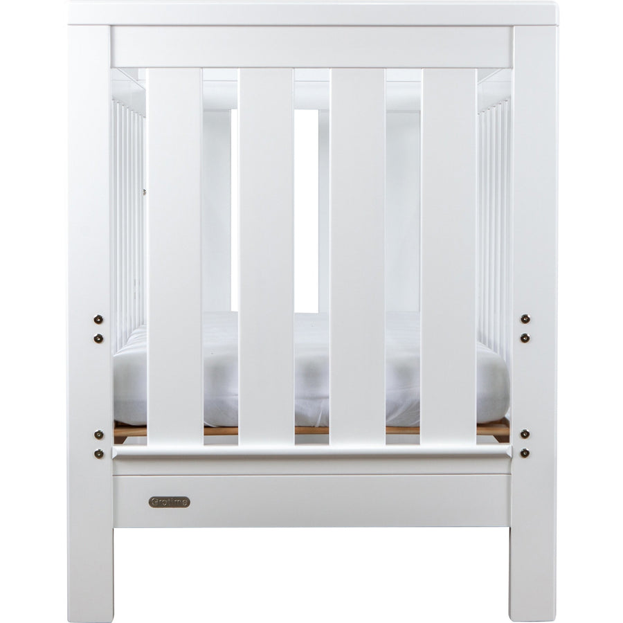 Grotime Richmond Cot - White Cots Grotime No mattress