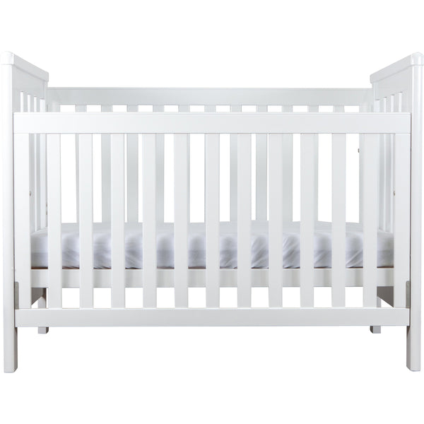 Grotime Richmond Package - with Cot, Mattress, Spartan Chest & Crest Changing Top Nursery Furniture Grotime