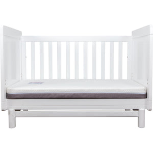 Grotime Scandi Package - with cot, chest and mattress Nursery Furniture Grotime