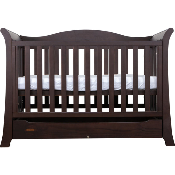 Grotime York Package - with cot, chest and mattress Nursery Furniture Grotime Espresso