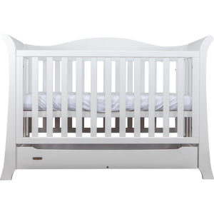 Grotime York Package - with cot, chest and mattress Nursery Furniture Grotime White