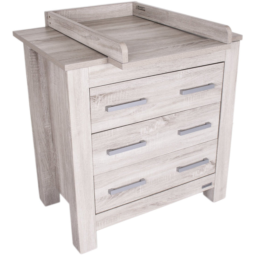 Love N Care Bordeaux Chest - Ash Nursery Furniture Love N Care