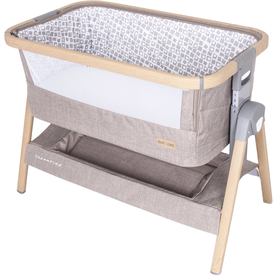 Love N Care Dreamtime Sleeper Cradles & Bassinets Love N Care Charcoal