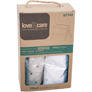 Love N Care Dreamtime/Moonlight Fitted Sheets Mats & Linen Love N Care