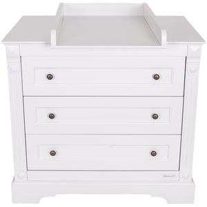 Love N Care Emilia Chest - White Nursery Furniture Love N Care