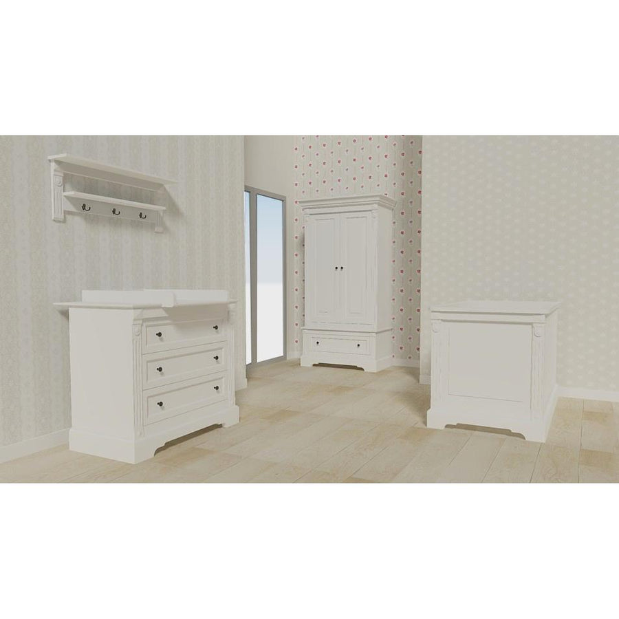 Love N Care Emilia Package - with cot, mattress and chest with changer Nursery Furniture Love N Care