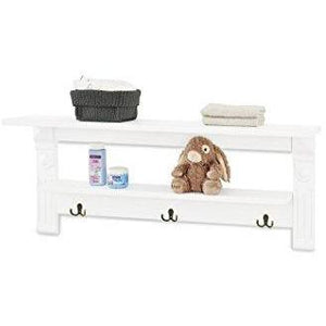 Love N Care Emilia Wallshelf - White Nursery Furniture Love N Care