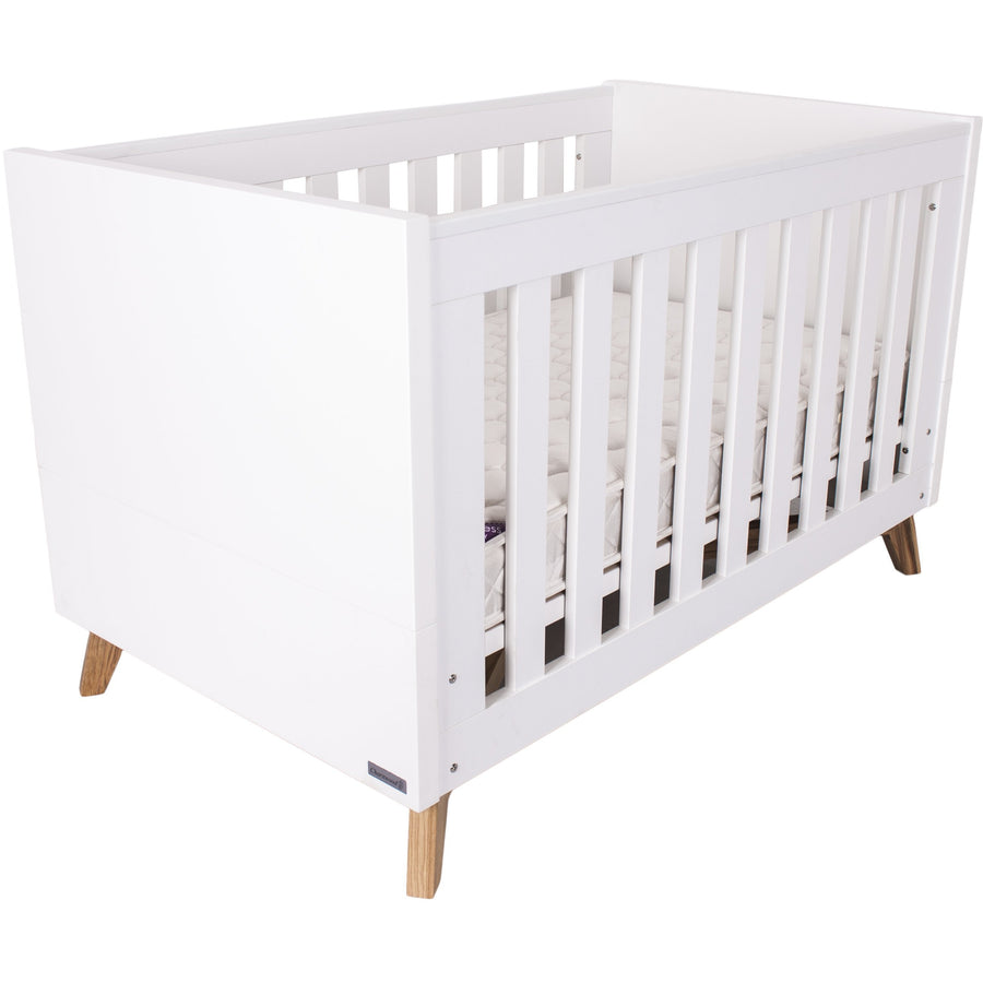 Love N Care Fjord Package - with cot, mattress and chest with changer Nursery Furniture Packages Love N Care