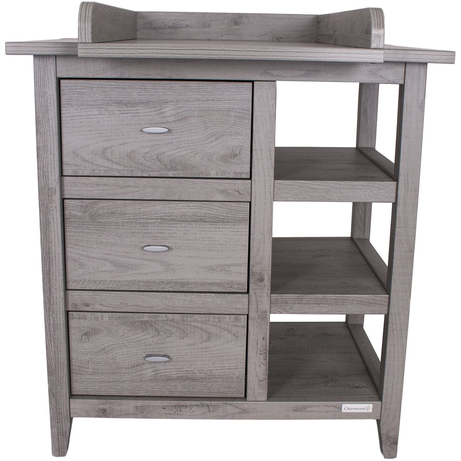 Love N Care Lyon Chest - Dark Grey Nursery Furniture Love N Care