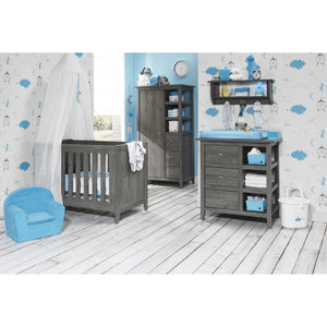Love n Care Lyon Cot - Dark Grey Cots Love N Care