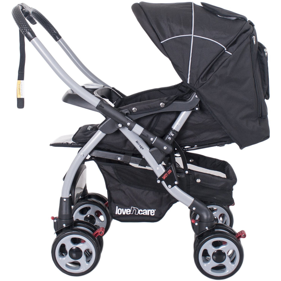 Love N Care Mirage Stroller Full Size Prams Love N Care Nero