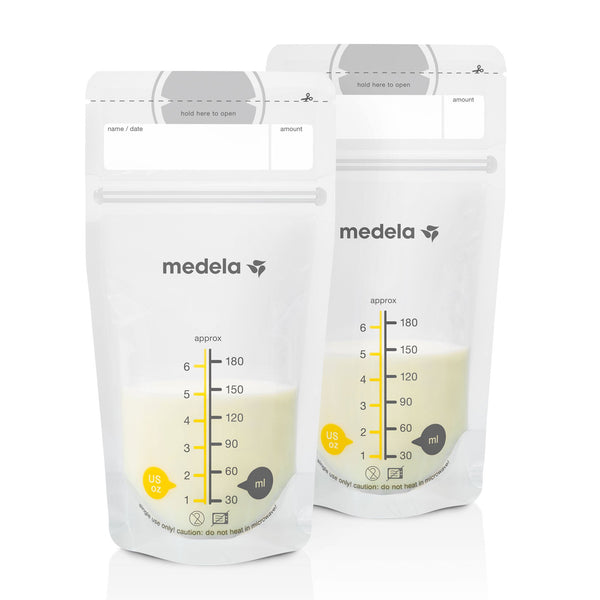 Medela Breast Milk Storage Bags (50 Bags) Feeding Medela