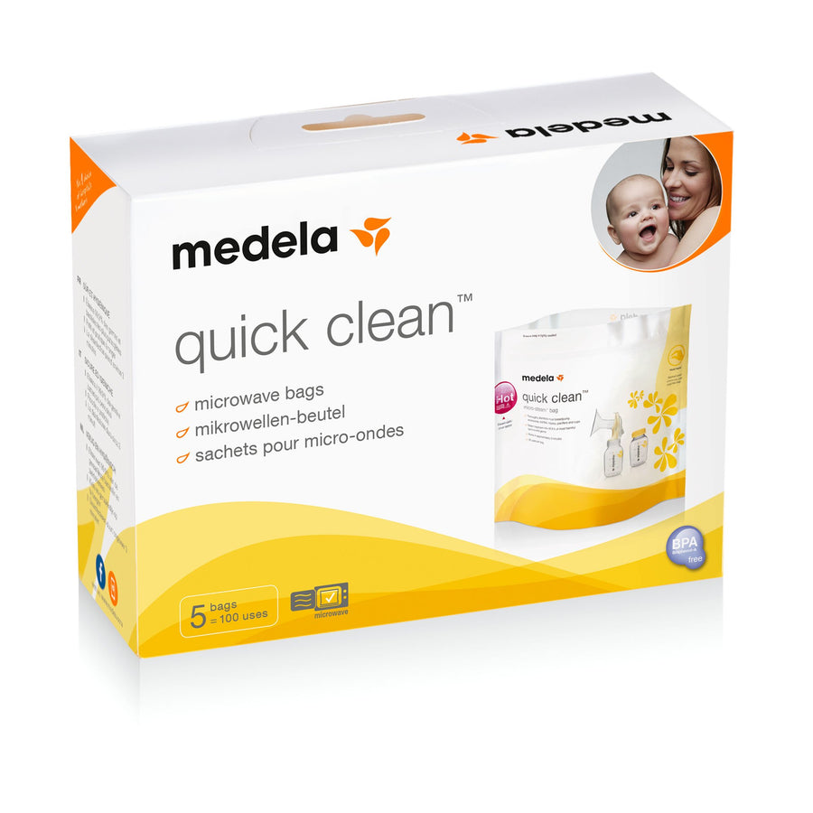 Medela Quick Clean Microwave Bag (5 Pieces) Feeding Medela