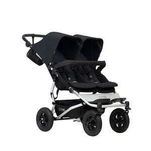 Mountain Buggy Duet Prams Mountain Buggy Black