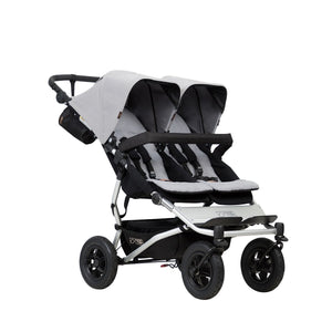 Mountain Buggy Duet Prams Mountain Buggy Silver