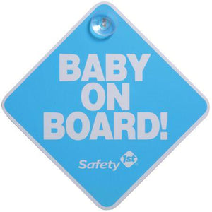 Safety 1st Baby on Board Sign Car Seat Accessories Safety 1st Blue