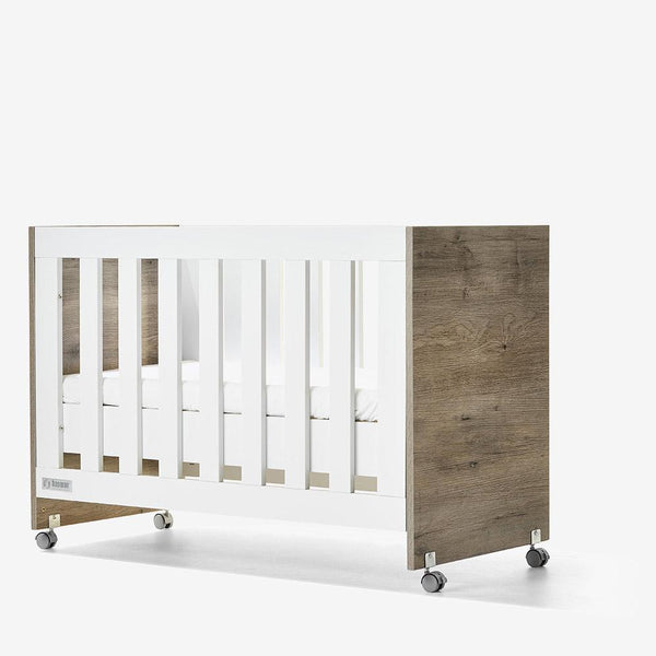 Tasman Essentials Eden Cot + Mattress with FREE mattress protector and fitted sheet Cots Tasman Eco Ash