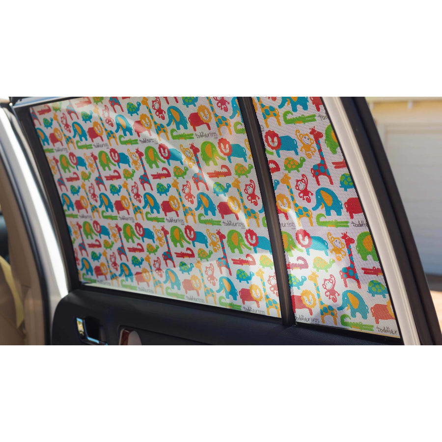 Toddler Tints Window Shade - Zoo Friends Car Seat Accessories toddler tints