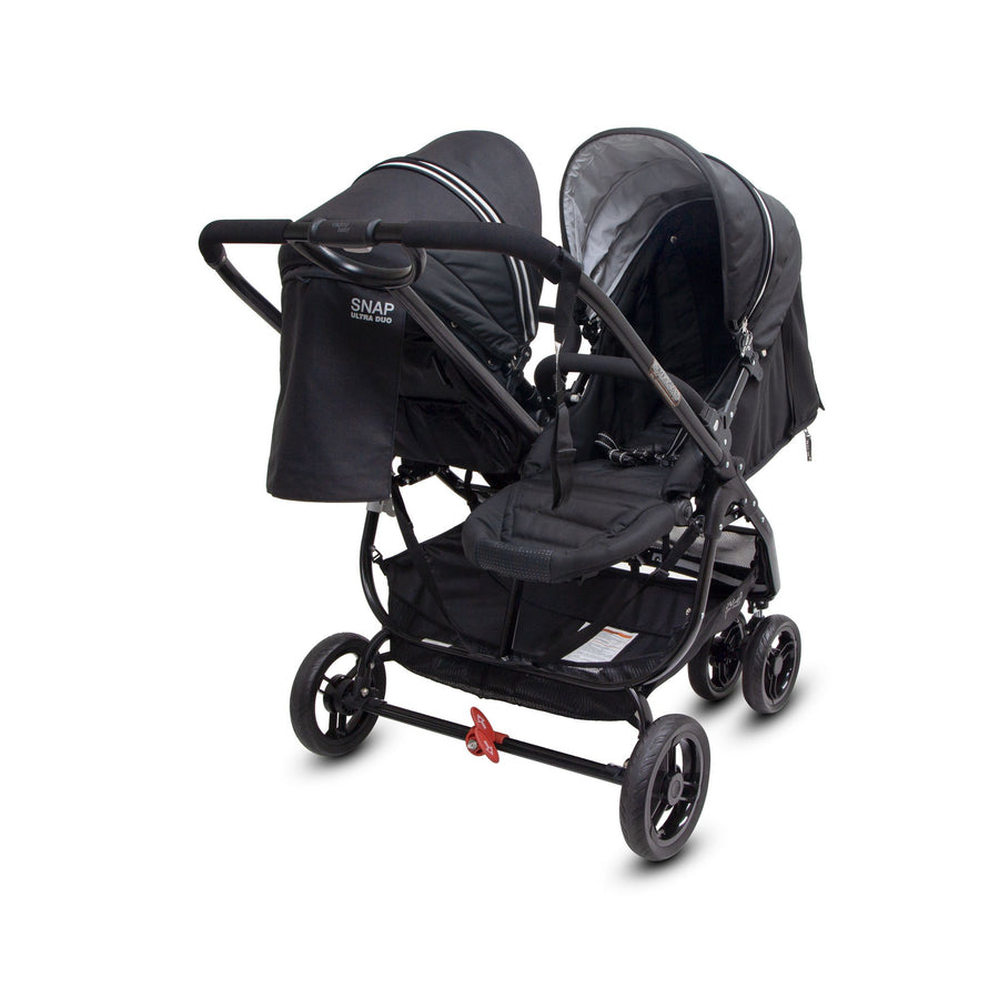 Valco Baby Snap Ultra Duo Double Prams Valco Baby Coal Black